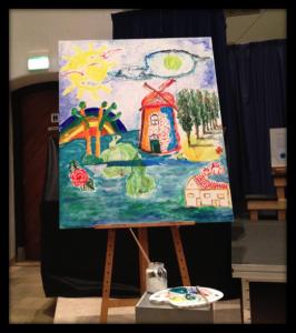 Veiling van schilderij - Entree schilderij ...